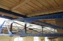 Sanierung Fachwerkbinder   Hallenkomplex Gotha