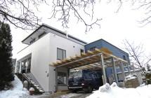 Anbau   Wohnhaus und Carport