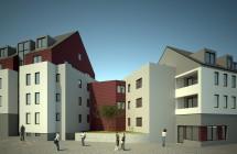 Neubau Wohnanlage Brühl 9-15 in Gotha