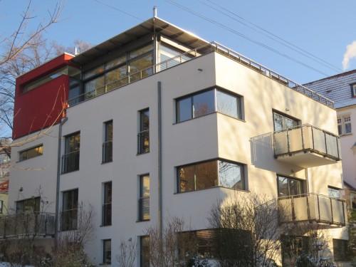 Neubao Mehrfamilienhaus in Jena